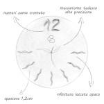 Caratteristiche orologi Gioacchino Brindicci
