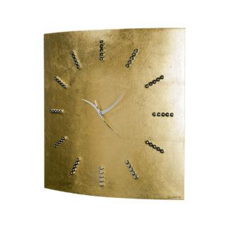 Orologia da parete - finitura in foglia d'oro - Collezione Glamour