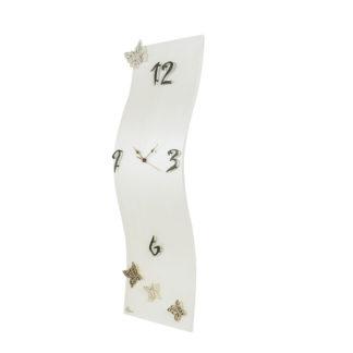 Orologio da parete verticale colore Perla