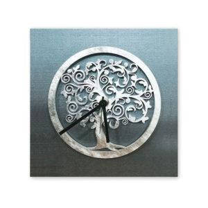 Orologio da tavolo - Albero della vita - Antracite silver