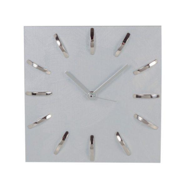 Orologio da tavolo colore Silver con riferimenti ore