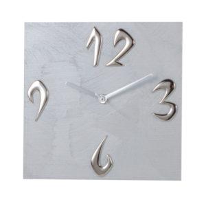 orologio da tavolo colore silver con riferimenti numeri