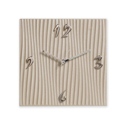 Orologio da tavolo quadrato - Tortota - tampografato - Bomboniera - 20x20cm