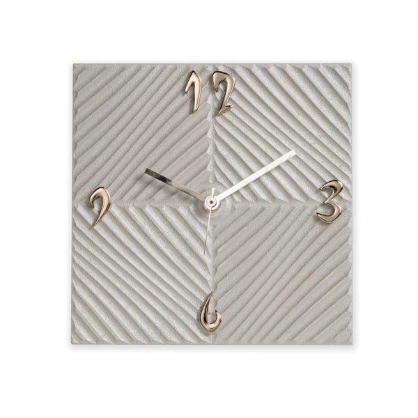 Orologio da tavolo quadrato - Tortota - tampografato - Bomboniera