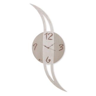Orologio pianeta verticale - Tortora e perla collezione Panto - Idea regalo